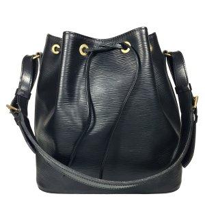 Louis Vuitton Petit Noe PM aus Epi Leder in Kouril Schwarz Tasche Handtasche