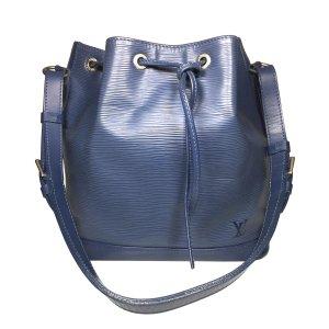 Louis Vuitton Petit Noe PM aus Epi Leder in Myrtille Blau Tasche Handtasche