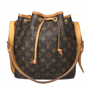 Louis Vuitton Petit Noe PM Monogram Canvas Handtasche Tasche