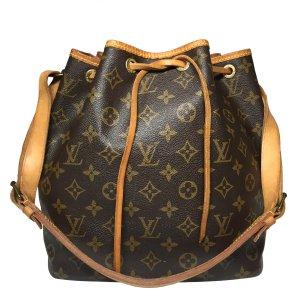 Louis Vuitton Petit Noe PM Monogram Canvas Tasche Handtasche