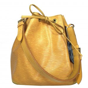 Louis Vuitton Petit Sac Noe Epi Leder Gelb Tasche Handtasche Noé