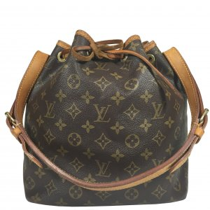Louis Vuitton Petit Sac Noe PM Monogram Canvas Tasche Handtasche Noé
