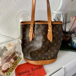 Louis Vuitton Petite Bucket PM Monogram Canvas