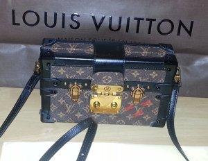 Louis Vuitton Borsa a tracolla nero-marrone Pelle