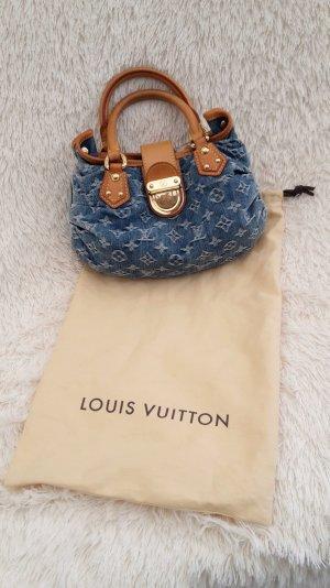 Louis Vuitton Handbag light blue-cognac-coloured