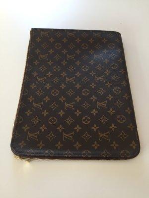 Louis Vuitton Poche Porte Documents Monogram Canvas Laptoptasche Orginal