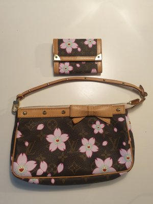 Louis Vuitton Carry Bag brown-pink