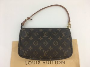 Louis Vuitton Pochette marrone Pelle