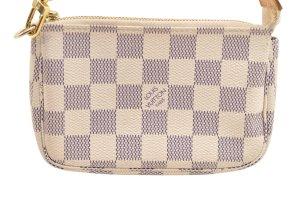 Louis Vuitton Handtas wit Textielvezel