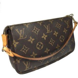 Louis Vuitton Pochette Accessoires Clutch aus Monogram Canvas Handtasche Tasche