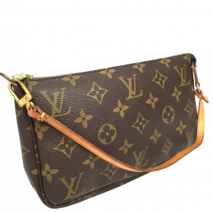 Louis Vuitton Pochette Accessoires Clutch Tasche Handtasche Monogram Canvas