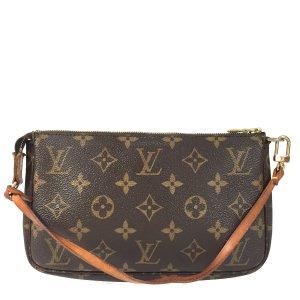 Louis Vuitton Pochette Accessoires Monogram Canvas Tasche Handtasche Clutch