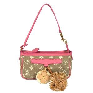 Louis Vuitton Pochette Accessoires Monogram Sabbia in Rose Tasche Handtasche