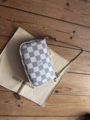 Louis Vuitton Pochette Clutch Azur Top Bag Kette Chain
