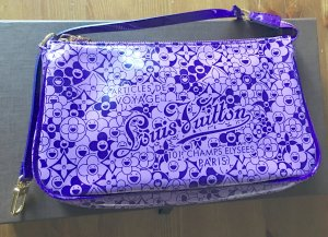 "Louis Vuitton Pochette ""Cosmic Blossoms by Takashi Murakami"" Limited Edition TOP"