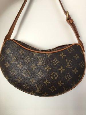Louis Vuitton Bolso de mano marrón oscuro-coñac