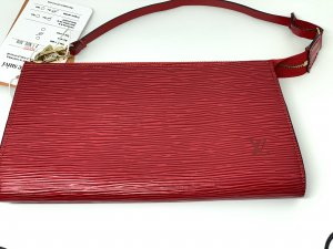Louis Vuitton Borsa clutch rosso