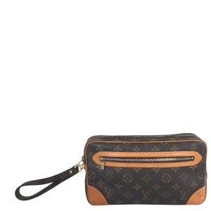 Louis Vuitton Pochette Marly Dragonne Tasche Handtasche Clutch Monogram Canvas