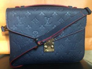 Louis Vuitton Pochette Metis Empreinte Marine Rouge
