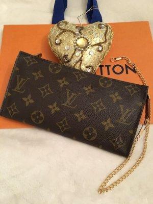 Louis Vuitton Mini Bag dark brown-light brown