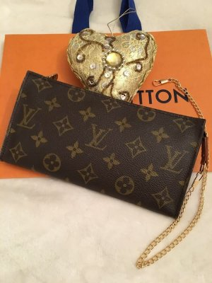 Louis Vuitton Borsetta mini marrone scuro-marrone chiaro