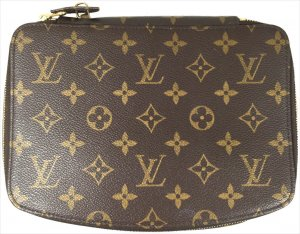 Louis Vuitton Pochette Monte Carlo Monogram Canvas Schmucketui Tasche Koffer