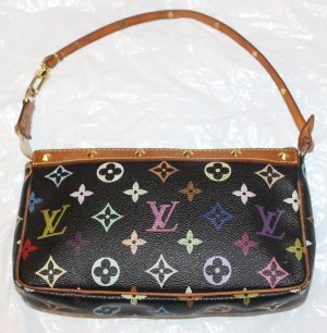 LOUIS VUITTON POCHETTE multicolor schwarz