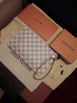 Louis Vuitton Enveloptas wit-rosé