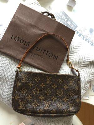 Louis Vuitton Pochette brun noir-chameau