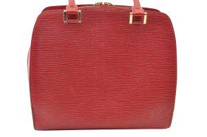 Louis Vuitton Shoulder Bag red textile fiber