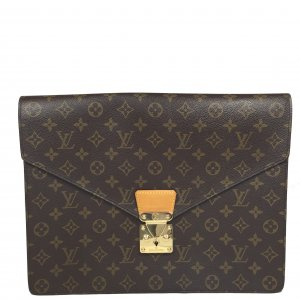 Louis Vuitton Porte Documents Sénateur Monogram Canvas Tasche Aktentasche
