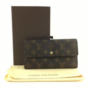 LOUIS VUITTON Portefeuille Sarah Long Bifold Wallet Monogram M61734