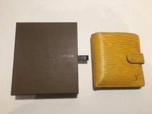 Louis Vuitton Portemonnaie in gelbem Epi