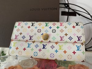 Louis Vuitton Portemonnaie Sarah Monogram Multicolor weiss Portefeuille Long Wallet