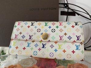 Louis Vuitton Portemonnaie Sarah Monogram Multicolor weiss Portefeuille Long Wallet