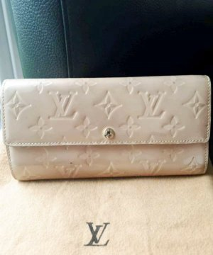 Louis Vuitton Cartera crema