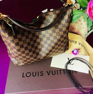 Louis Vuitton Sac hobo bronze-brun noir