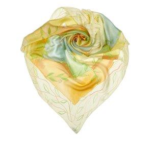 Louis Vuitton Printed Airplane Silk Scarf