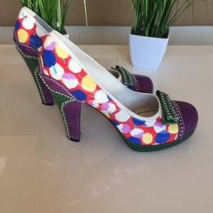 *** LOUIS VUITTON Pumps leder bunt! GR. 41 ***