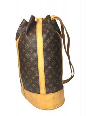 LOUIS VUITTON RANDONNÉE SCHULTERTASCHE AUS MONOGRAM CANVAS