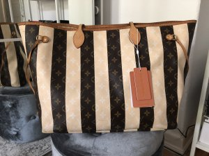 Louis Vuitton Rayures Neverfull GM Monogram Streifen Limitiert Shopper
