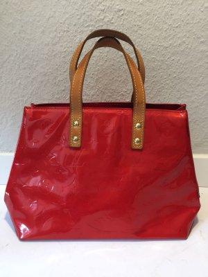 Louis Vuitton Sac à main rouge brique-marron clair
