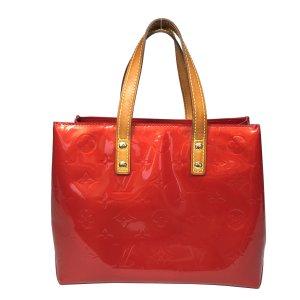 Louis Vuitton Reade PM Monogram Vernis Leder in Rot Tasche Handtasche