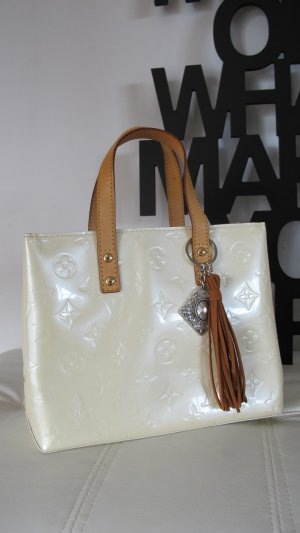 Louis Vuitton Sac Baril beige clair cuir