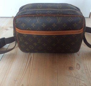 Louis Vuitton Crossbody bag dark brown-dark orange
