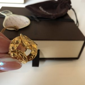 Louis Vuitton Gold Ring gold-colored