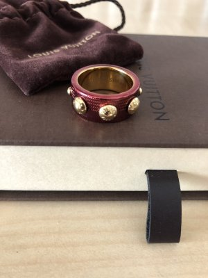Louis Vuitton Anello d'oro ruggine-oro
