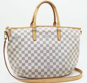 Louis Vuitton Borsa grigio chiaro-bianco sporco