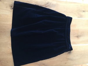 Louis Vuitton Midi Skirt dark blue mixture fibre