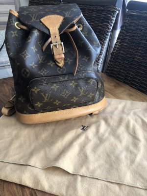 Louis Vuitton Rucksack Montsouris MM Monogram Canvas